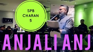 Up Close with S. P. B. Charan - Anjali Anjali Pushpanjali Live Performance In KL