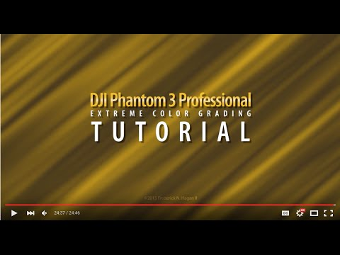 Adobe Premiere Preset for Phantom 3 Advanced | DJI FORUM