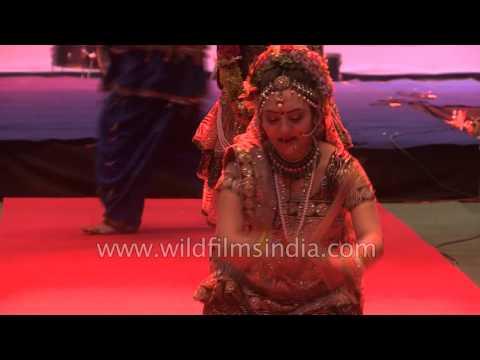 Dandiya Garba (Radha Krishna folk dance) from Gujarat