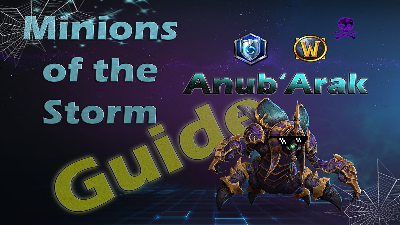 Ten Ton Hammer | Heroes of the Storm Anub'arak Build Guide