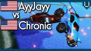 Chronic (Rank 5) vs AyyJayy Rocket League 1v1