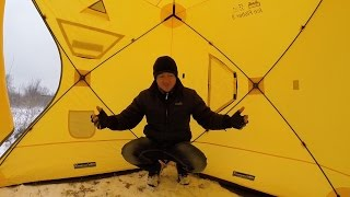 видео Палатки для зимней рыбалки