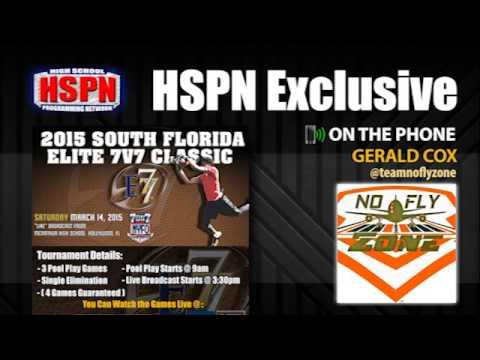 HSPN EXCLUSIVE - [@teamnoflyzone] Head Coach Gerald Cox - Interview