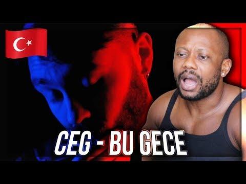 Ceg - Bu Gece  TURKISH RAP MUSIC REACTION!!!