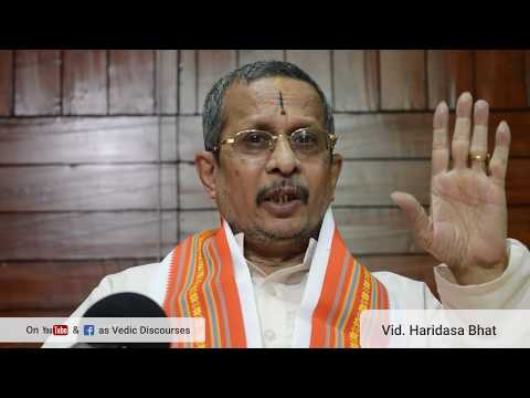 Why can't we accept that this world was not created by God? - Vid. Haridasa Bhat