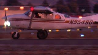 N9549G a CESSNA TU206F lands at Hayward Executive Airport