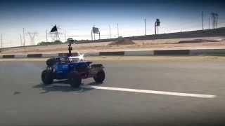 HPI BAJA 5T Top Speed test, Onboard GoPro