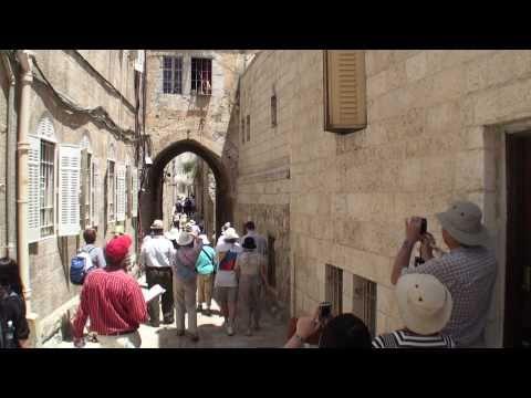 ISRAEL, Jerusalem - walk through the city.