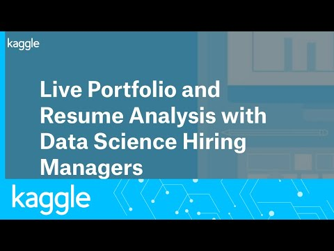 Live Portfolio and Resume Analysis with Data Science Hiring Managers