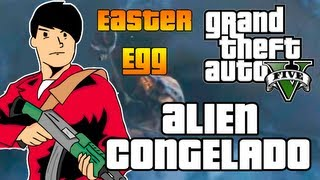 GTA 5: EASTER EGG EXTRATERRESTRE CONGELADO / FROZEN ALIEN [GTA V]