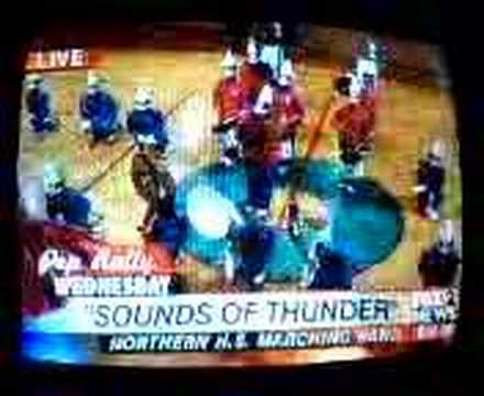 "Detroit Northern HS ""Sounds of Thunder"" Marching Band"