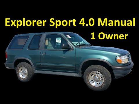 FOR SALE FORD EXPLORER SPORT ~ 4 0 V6 MANUAL 1 OWNER AUCTION SPECIAL