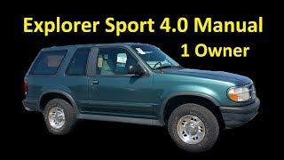Продається Форд Експлорер Спорт ~ 4 0 V6 і керівництво по експлуатації 1 власник аукціону спеціального