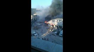 أخبار عربية | قتلى وجرحة بانفجار سيارة مفخخة في مدينة الدانا بريف #إدلب