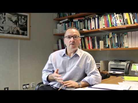 Patrick Devlin talks about Glasgow Caledonian University