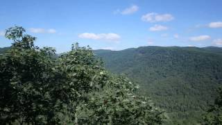 Blue Ridge Travel Guide at The Gorge Ziplines in Saluda, NC