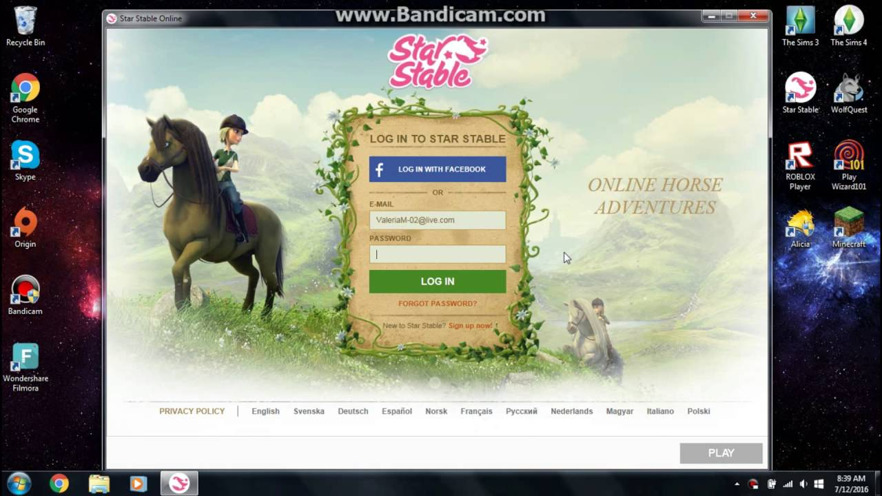 Star Stable Online How To Name Your Horse In Another