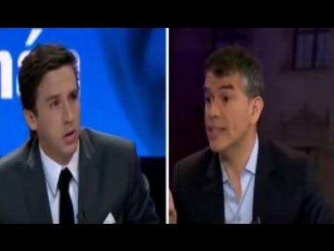 Julio Guzmán DESTRUYE a Periodista Mijael Garrido (Sin medias tintas ) 17.01.2016 (Canal 2)