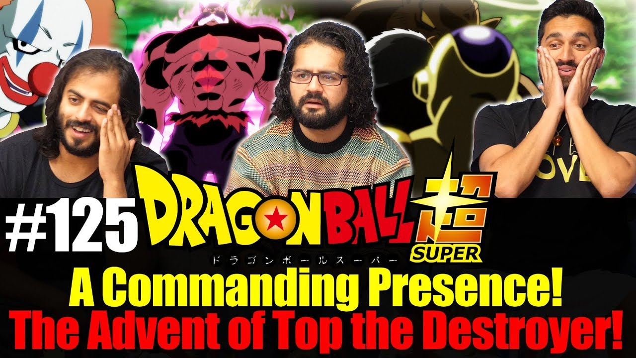 Download Dragon Ball Super ENGLISH DUB - Episode 125 - Group Reaction