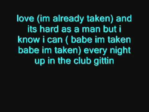 Trey Songz - Already Taken Lyrics