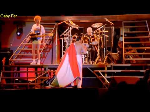 Queen We Will Rock You Live In Budapest (Subtitulado Al Español).[HD]