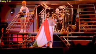 Queen We Will Rock You Live In Budapest (Subtitulado Al Español).[HD]