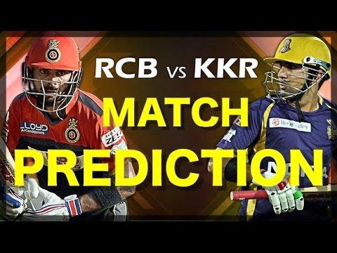 RCB vs KKR IPL 2018 Match Prediction - YouTube