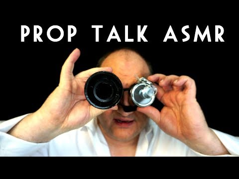 PROP TALK ASMR Show and Tell