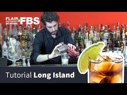 Long Island Ice Tea Tutorial  | Prepara un ottimo Long Island | Cocktail for you by FBS