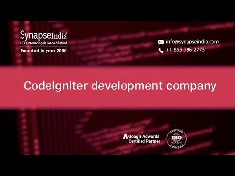 CodeIgniter Website Development by SynapseIndia