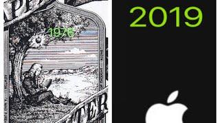 Gambar cover Evolution Of Apple Logo 1976-2019