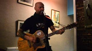 Phil Cudworth at Pendle Sandwitch Bar   Towpath Blues