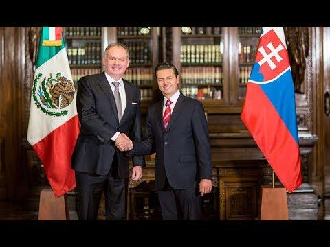 Encuentros con el Presidente - Visita de Estado del Presidente de la República Eslovaca