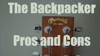 Martin The Backpacker Guitar review - Pros and Cons