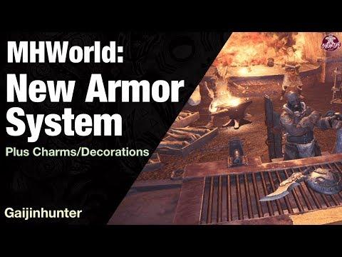 Monster Hunter World: New Armor System