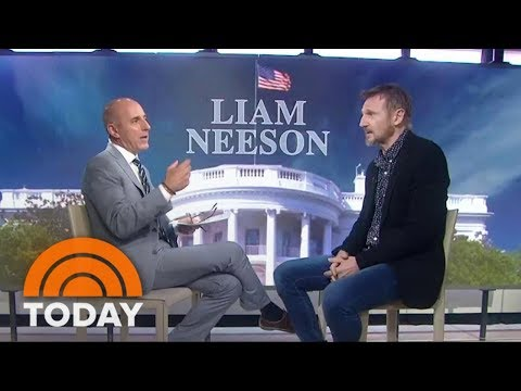 Liam Neeson On Playing 'The Man Who Brought Down The White House' | TODAY