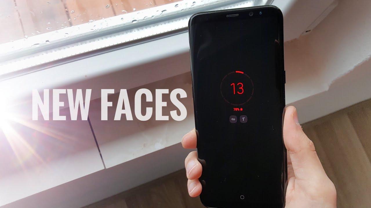 Samsung Good Lock 2019: New Clock Faces