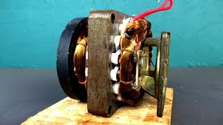 Free energy 100% - 220 Volts Generator - New Science project 2018