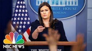 White House Press Briefing - September 8, 2017 | NBC News