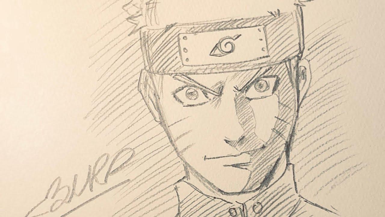 Hướng dẫn vẽ Naruto (Naruto drawing tutorial)