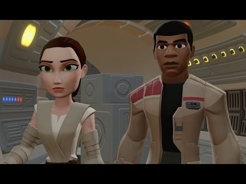 Disney Infinity 3.0 - The Force Awakens Playset Walkthrough Part 2 - Han and Chewie