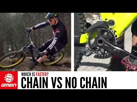 Chain Vs. No Chain | MTB Testing