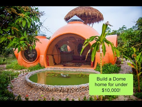 Build Dome Home like Steve's for under $10,000 using aircrete - DomeGaia's  instructional workshop -