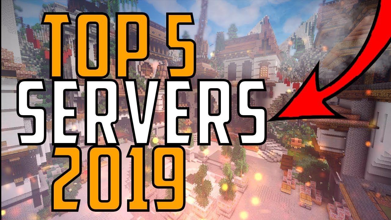 Minecraft Bedrock Edition Top 5 Realms 2019 [Xbox One/MCPE]