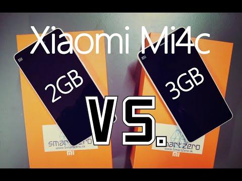 Xiaomi Mi4c 2GB RAM vs. Xiaomi Mi4c 3GB RAM - AnTuTu Benchmark, Geekbench, Quadrant