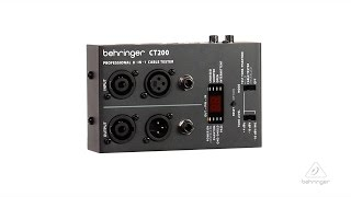 CT200 Microprocessor-Controlled 8-in-1 Cable Tester