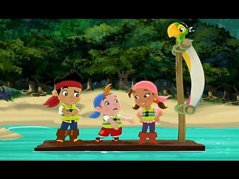 Джейк и пираты Нетландии - Пиратская головоломка Иззи!/ Нетландские игры! - Серия 8, Сезон 1