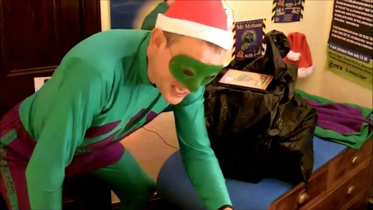 Christmas Farts with Mr Methane - YouTube