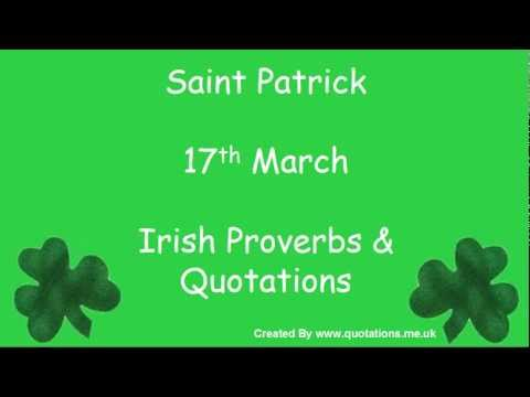 ♣♣♣♣♣ Irish Proverbs & Quotes - St Patricks Day - Famous Quotations