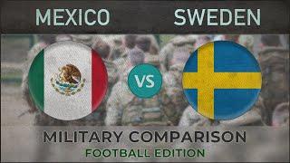 MEXICO vs SWEDEN - Army Comparison - 2018 [FOOTBALL EDITION]